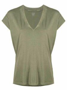 FRAME v-neck blouse - Green