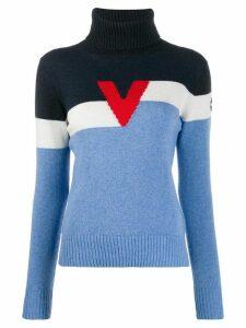Vuarnet Baltoro logo jumper - Blue