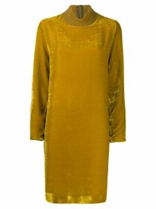 Fabiana Filippi sequin embroidered dress - Yellow