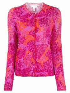 Escada Sport floral print cardigan - PINK