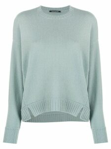Luisa Cerano round neck jumper - Blue