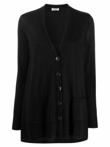 LIU JO lightweight loose-fit cardigan - Black