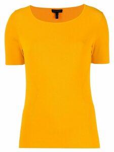 Escada short sleeved knit top - Yellow