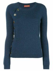 Altuzarra Minamota buttoned sweater - Blue