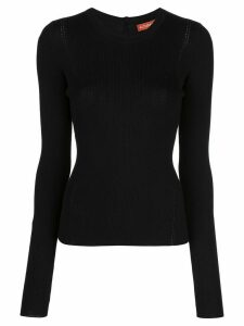 Altuzarra buttoned knitted jumper - BLACK
