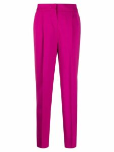 Pt01 high-waist tailored trousers - PINK
