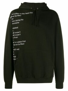 F.A.M.T. There Is Poem hoodie a - Black