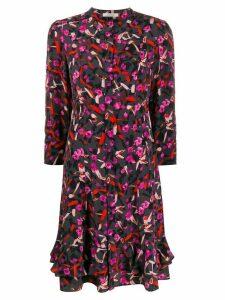 Dorothee Schumacher abstract print shirt dress - Grey