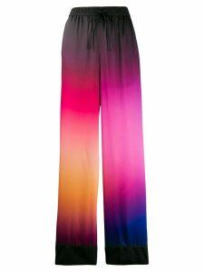 Mary Katrantzou ombre drawstring trousers - PINK