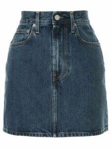 Helmut Lang denim skirt - Blue