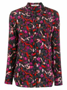 Dorothee Schumacher abstract print silk shirt - Red