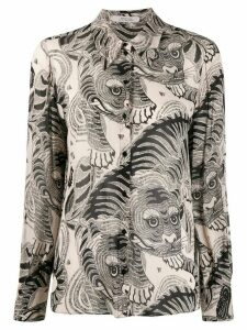 Dorothee Schumacher tiger print shirt - NEUTRALS