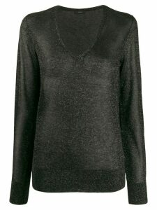 Joseph glitter effect jumper - Black