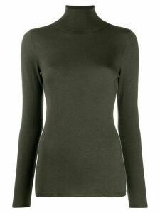Snobby Sheep slim fit turtle neck jumper - Green