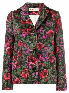 Marni floral single breasted blazer - PINK