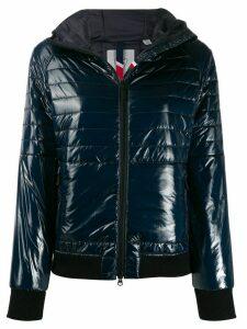 Rossignol Cyrus shiny hooded jacket - Blue