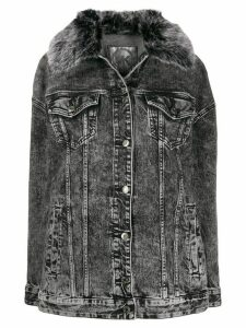 Michael Michael Kors bleached denim jacket - Grey