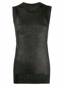 Joseph glitter effect knitted top - Black