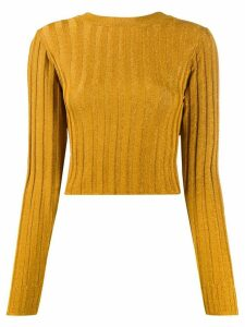 Missoni ribbed knit jumper - Yellow