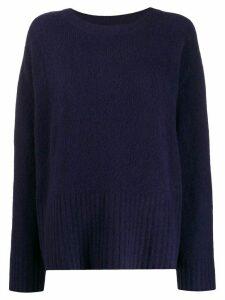 6397 boxy fit sweater - Blue