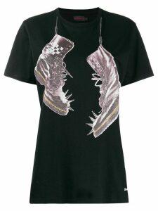 Dr. Martens shoe print T-shirt - Black