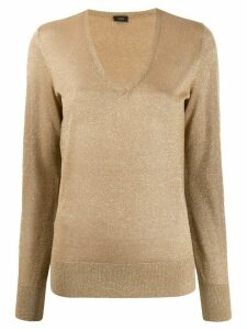 Joseph glitter effect jumper - GOLD