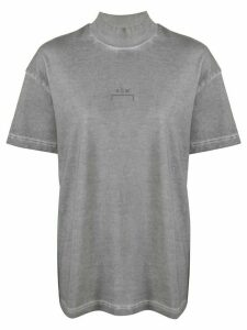 A-COLD-WALL* worn-out effect logo T-shirt - Grey