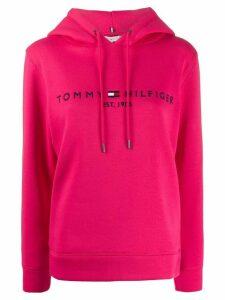 Tommy Hilfiger logo hoodie - PINK