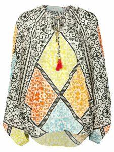 Silvia Tcherassi Hand printed blouse - Multicolour