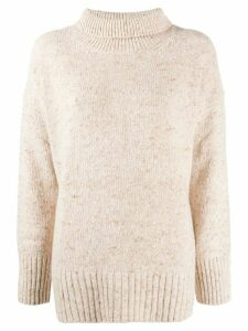 Vanessa Bruno roll neck jumper - NEUTRALS