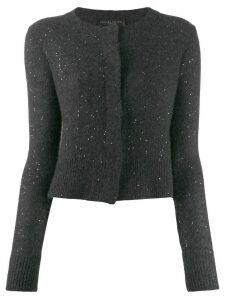 Fabiana Filippi concealed front cardigan - Grey