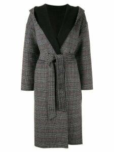 Loveless reversible shawl collar coat - Grey
