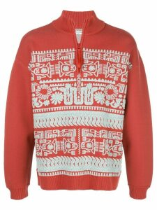 Opening Ceremony jacquard-knit jumper - Red
