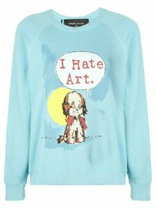 Marc Jacobs x Magda Archer printed sweatshirt - Blue