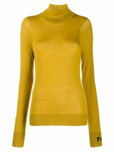 Nina Ricci turtle neck jumper - Yellow
