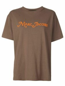 Marc Jacobs oversized logo T-shirt - Brown
