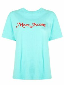 Marc Jacobs oversized logo T-shirt - Blue