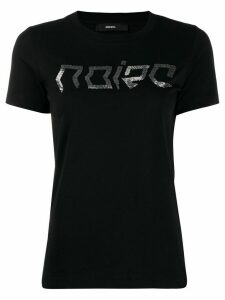 Diesel beaded Noize lettering T-shirt - Black