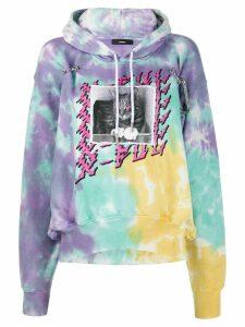 Diesel Hook tie-dye hoodie - PURPLE