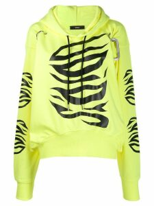 Diesel F-AlbyHook-C relaxed-fit hoodie - Yellow