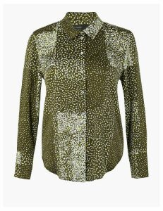 Autograph Satin Printed Shirt