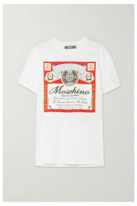 Moschino - + Budweiser Printed Cotton-jersey T-shirt - Red