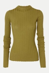 Petar Petrov - Kent Ribbed Merino Wool Sweater - Dark green