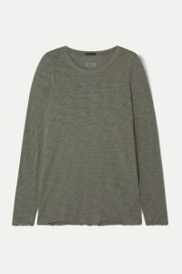 ATM Anthony Thomas Melillo - Slub Cotton-jersey Top - Green
