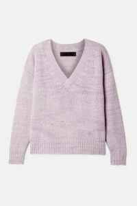 The Elder Statesman - Cashmere Sweater - Lilac