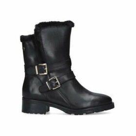 Carvela Comfort Roxie - Black Buckle Detail Ankle Boots