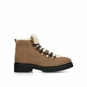 Carvela Stork - Tan Hiker Boots