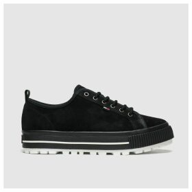 Tommy Hilfiger Black Tj Cleated City Trainers