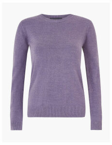 M&S Collection Round Neck Jumper