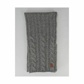 Barts Twister Scarf - Heather Grey (One Size Only)